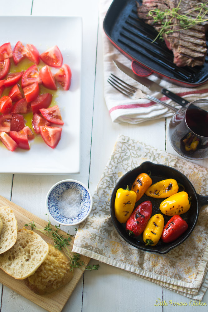 Dinner in Spain Re-creation via LittleFerraroKitchen.com