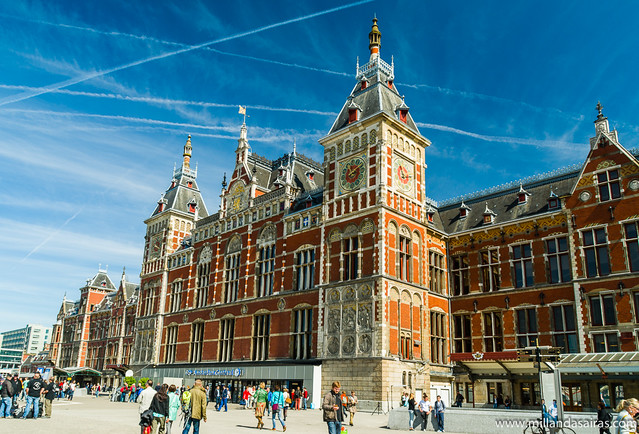 Estación de tren Amsterdam Centraal