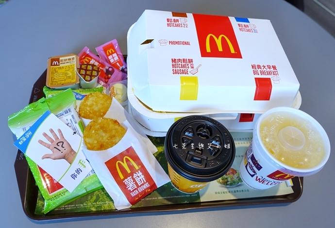 麥當勞好時光大早餐 經典大早餐