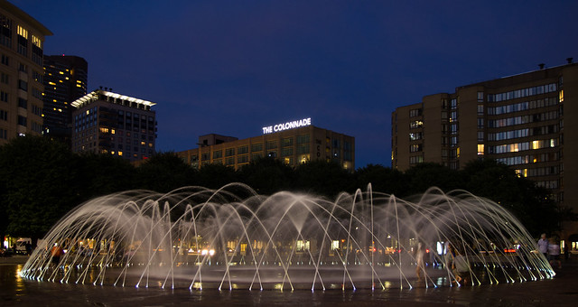 Back Bay Fountain