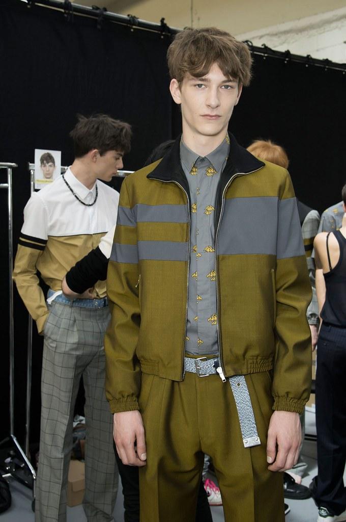 SS15 Paris Krisvanassche203_Matthieu Gregoire,Dominik Hahn(fashionising.com)