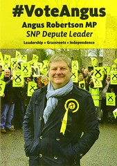 #Vote Angus for Depute Leader of the SNP leaflet, 2016