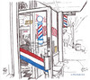 LDD1016 barber shop sm