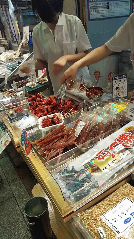 Eating in Japan - Markets
