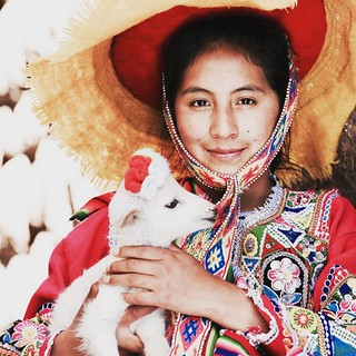The girl from Andes. 安第斯少女