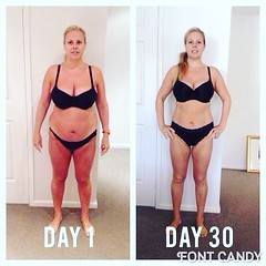 HOLY SMOKES!! This transformation blows my mind! Jodie has always been active and killing herself 5 days a week at boot camp and feeling frustrated staying the same size! And in just 30 days has totally crushed it using my superfood nutritional cleansing