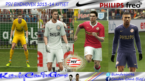 PSV eindhoven 2013-14 Kitset by #CandraGame