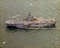 CL-84 operating from USS Guam (LPH-9) c1973