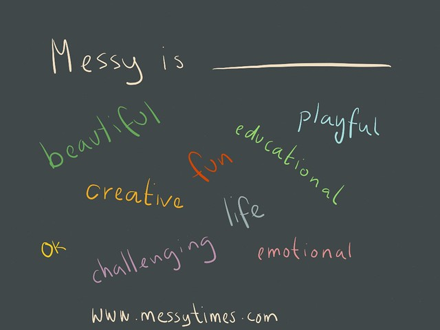 Messy is...