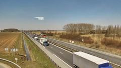 Eurostar to Paris Nord crossing motorway, France - Photo of Saint-Désiré