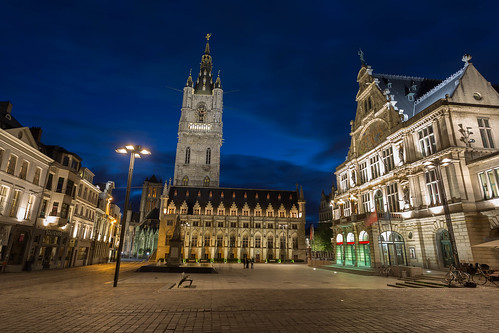 Belfry square, Ghent