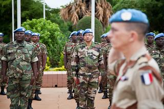 Les nouveaux Soldats de la paix au Mali