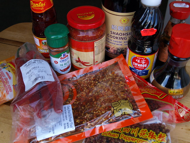 Chinese food ingredients flickr photo sharing for Asian cuisine ingredients