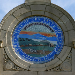Architectural Detail - Kansas State Seal