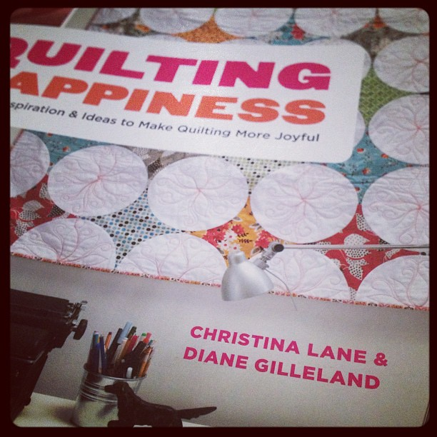 Yay!! @craftypod's new book just arrived! I'm going to save it for an after-dinner treat :)