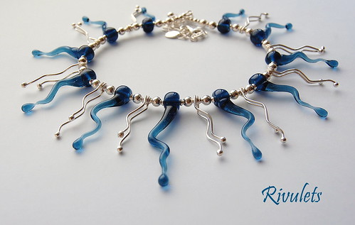 Rivulets Necklace by gemwaithnia