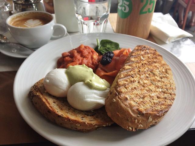 Mexican Eggs, Kith Café, Quayside Isle
