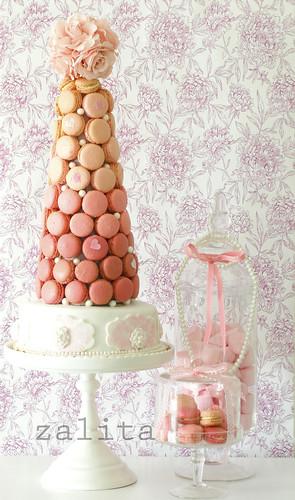 macaron cake by {zalita}