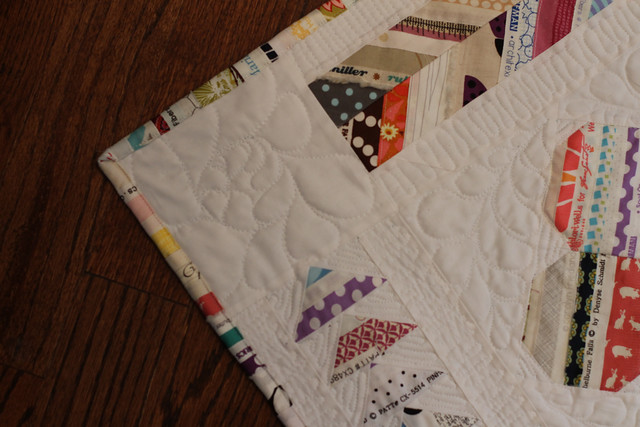 Lucky, a Selvedge Medallion Quilt