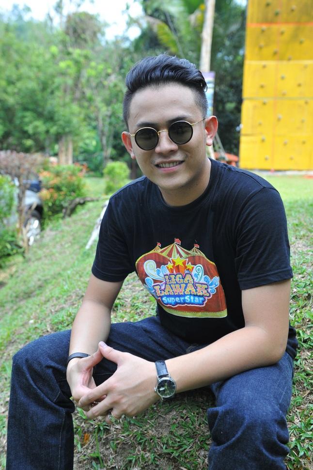 Akim Ahmad salah seorang peserta Liga Lawak Superstar