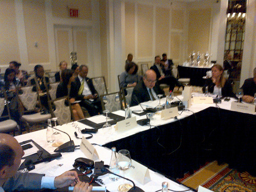 Secretary General Participates in Meeting on Haiti