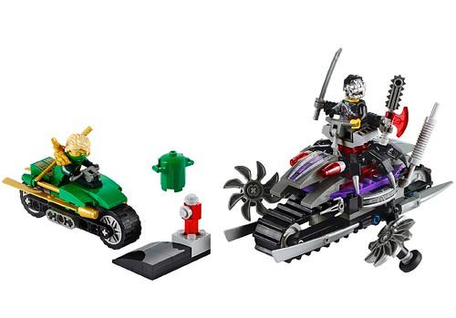 LEGO Ninjago OverBorg Attack 70722