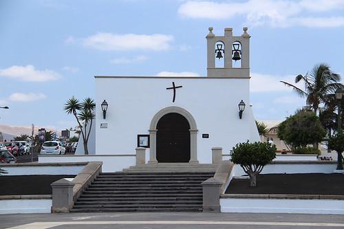 church in Playa Blanca