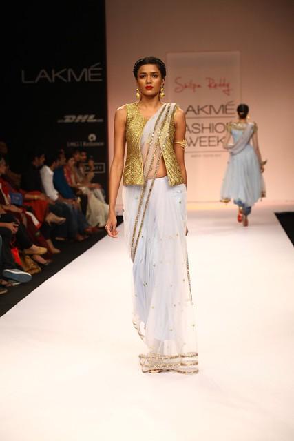 Designer Shilpa Reddy LFW WF 2013 (25)