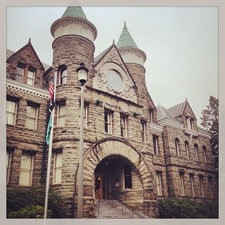 Now this is an entrance!  CNU CascadiaSummit#Olympia#OlympiaWashington#pacificnw#washingtonstate #CNUCascadia#historic