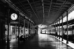 Waiting  Sirkeci Train Station