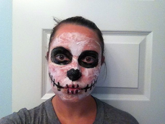 DIY Halloween makeup recipe