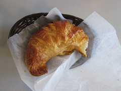 meal, baked goods, food, dish, cuisine, pasty, croissant,