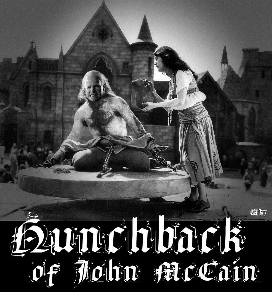 HUNCHBACK OF JOHN MCCAIN