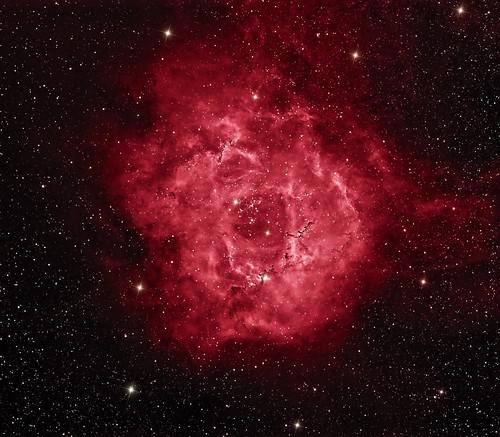 Rosette Nebula - Caldwell 49 Mosaic by Mick Hyde