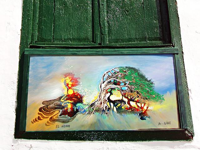 El Hierro Painting, Santiago del Teide, Tenerife