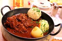 Beef Goulash in SAlzburg