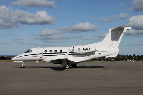 G-JAGA Embraer EMB-505 Phenom 300 by Guernsey Airport Photography