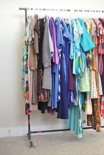 diy clothes rack