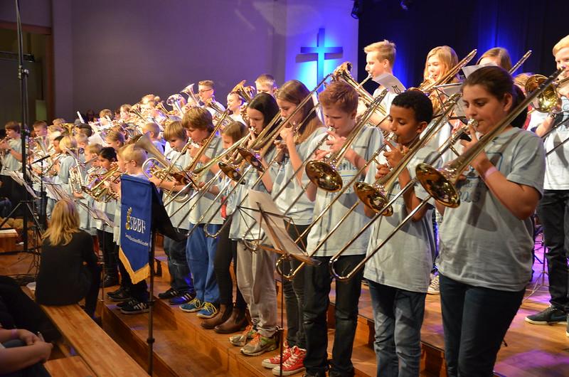 Brassbandfestivalen 2013 - Minibrassarna fyller Arken (Foto: Olof Forsberg)