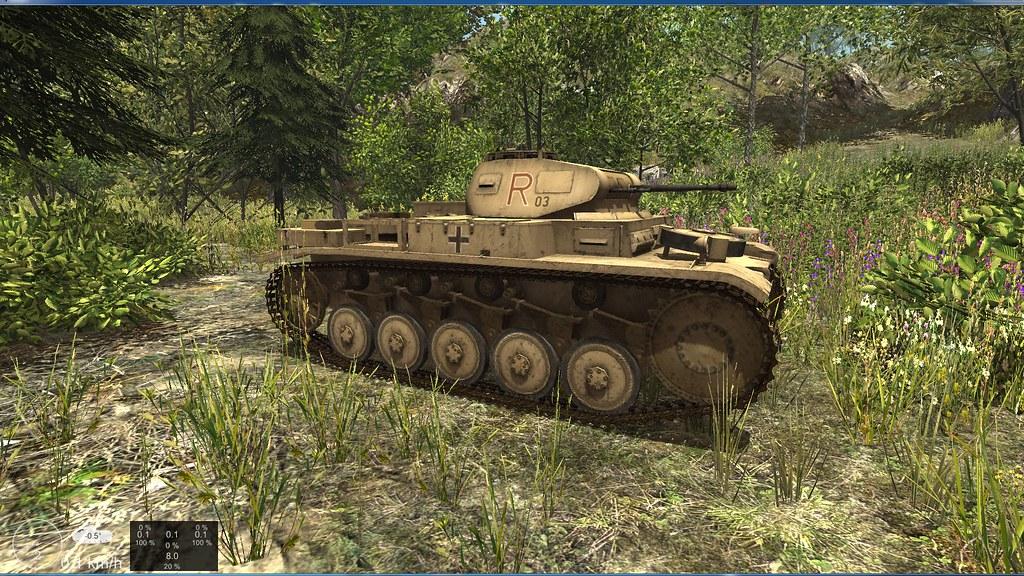 Panzer driving 10820047056_7610391aa6_b