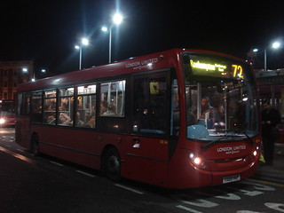 London United DE46 on Route 72, Hammersmith