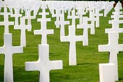 Normandy American Cemetery at Colleville-sur-Mer, France