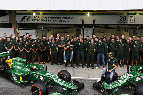 Caterham F1 Team Giedo piggyback