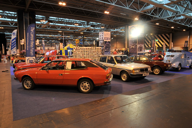 Lancia Beta Forum at the 2013 NEC Classic Motor Show