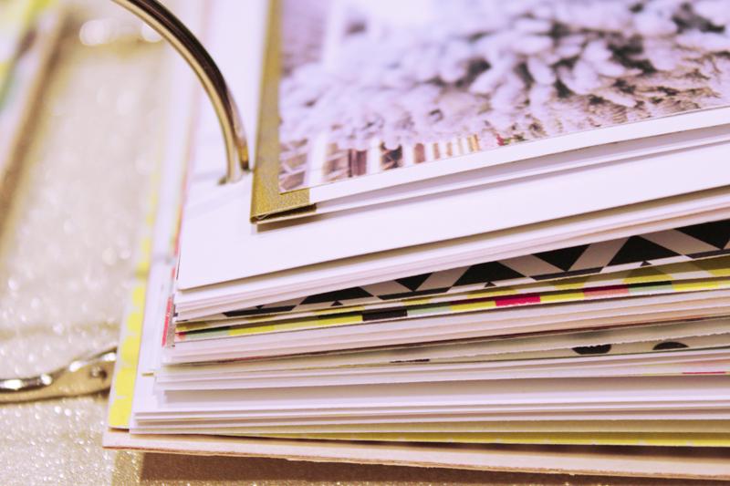 {december 1st} minibook | washi