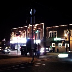 Hometown dressed up for Christmas!