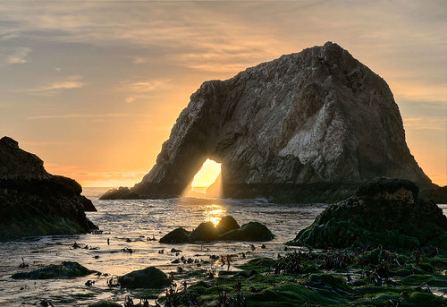Elephant Rock Sunset