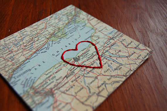 Diy Map Inspired Gift Ideas A Pair Amp A Spare