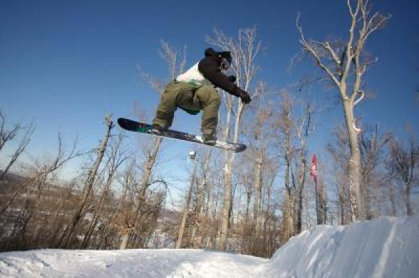 Mad River Mountain snowboard camp