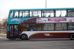 This bus was new to Lothian Buses as 812 in 2006. Seen here at West Granton...